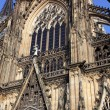 Facade of the Cologne Cathedral — Stock Photo