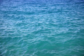 Sea surface, water blue — Stock Photo