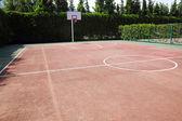 Outdoor Playground for basketball — Stockfoto
