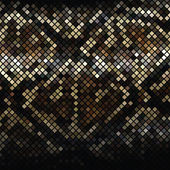 Mosaic Snake Skin_2 — Stock Vector