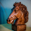 Figurine horsehead — Stock Photo