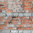 Stock Photo: Brick wall. destruction.