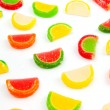 Stock Photo: Fruit jelly