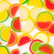 Fruit jelly — Stock Photo