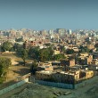 Panorama on Cairo - Stock Photo