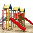 Stock Photo: Playground without children