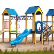 Playground without children - Stock Photo