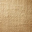 Close-up of natural burlap hessian sacking.  — Stock Photo