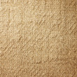 Close-up of natural burlap hessian sacking. - Stock Photo