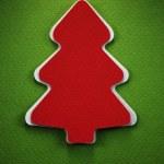 Boże Narodzenie drzewo papieru — Zdjęcie stockowe