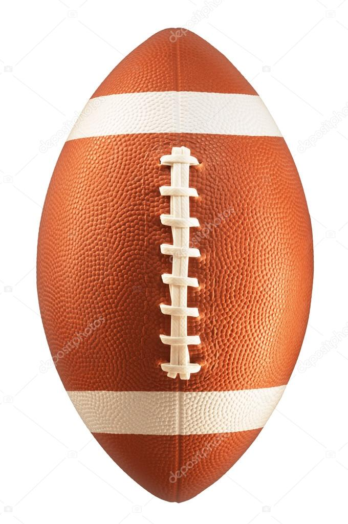 American Football isolated on a white background — Stock Photo #19147893