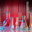 Laboratory glassware — Stock Photo #30937945