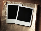 Marco de fotos estilo polaroid — Foto de Stock