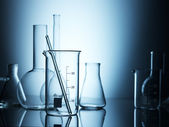 Verrerie de laboratoire — Photo