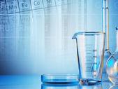 Laboratory glassware — Stockfoto