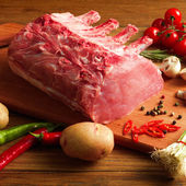 ステーキ野菜添え — ストック写真