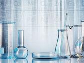 Vetreria di laboratorio — Foto Stock