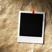 Cornice per foto stile polaroid — Foto Stock