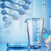 Laboratory glassware — Stock Photo