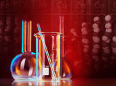 Laboratory glassware — Foto Stock
