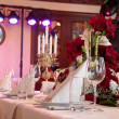 BANQUET TABLE — Stock Photo #2901766
