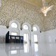 Interiors of Sheikh Zayed Mosque, Abu Dhabi, United Arab Emirates — Foto Stock