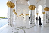 Abu Dhabi Sheikh Zayed White Mosque — Foto Stock