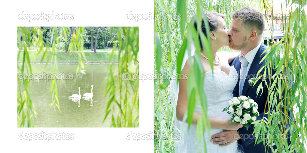 Couple in wedding day  Stock Photo #12639031