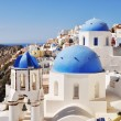 Church in Oia - Santorini island Greece - Foto Stock