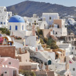 Colored romantic Santorini — Stock Photo