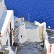 View of Fira town - Santorini Greece — Stock Photo