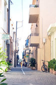 Old city part of Retimno, Crete, Greece — Stock Photo