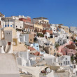 Santorini - panoramic view — Stock Photo