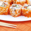 Sushi rolls - Stock Photo