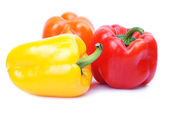 Colorful pepper pattern — Stock Photo