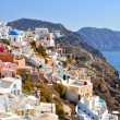Amazing romantic Santorini island, Greece — Stock Photo #23820517