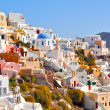 Amazing romantic Santorini island, Greece — Stock Photo #23820521