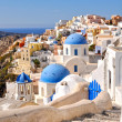 Amazing romantic Santorini island, Greece — Stock Photo #23820621