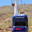 Cable car in Teide National Park,Tenerife, Canary Islands, Spain — Stock Photo