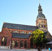Historical building of Riga Dome Cathedral, Latvia. — Stock Photo