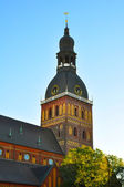 Riga Cathedral in Riga, Latvia — Stock Photo
