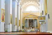 Altar of a Vilnius Cathedral — Stock Photo