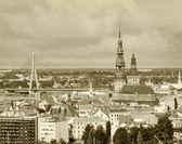 ラトビア、リガの旧市街の建物 — ストック写真