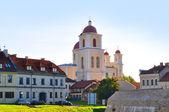 Orthodox church of the Holy Spirit in Vilnius — Stock Photo