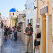 Streets of Santorini, Greece — Stock Photo