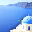 Classical Greek style church in Santorini, Greece — Stock Photo #33765921