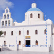 Classical Greek style church in Santorini, Greece — Stock fotografie