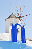 Windmill at Oia Santorini — Stockfoto