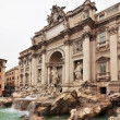 Fountain di Trevi - most famous Rome's fountains in the world. Italy. — Stock Photo #38119949
