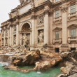 Fountain di Trevi - most famous Rome's fountains in the world. Italy. — Stock Photo #38119953